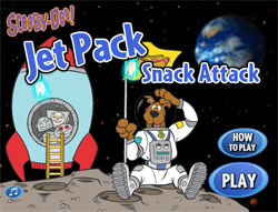 Jet packs snack attack