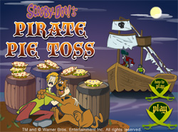 Pirate pie toss